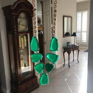 Kendra Scott Harlow Emerald Green EUC Not Cat's